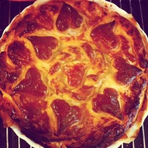 Lachs Pie