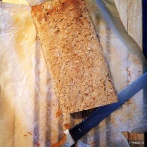 Brot selbstgebacken